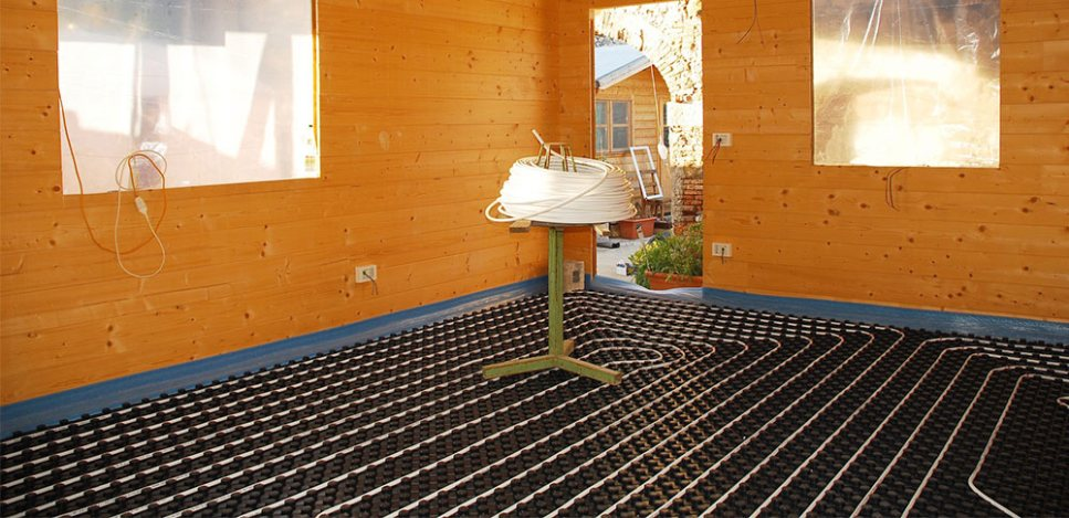 Plumb-Pro-Hydronics-Underfloor-Heating-System-in-Wooden-House