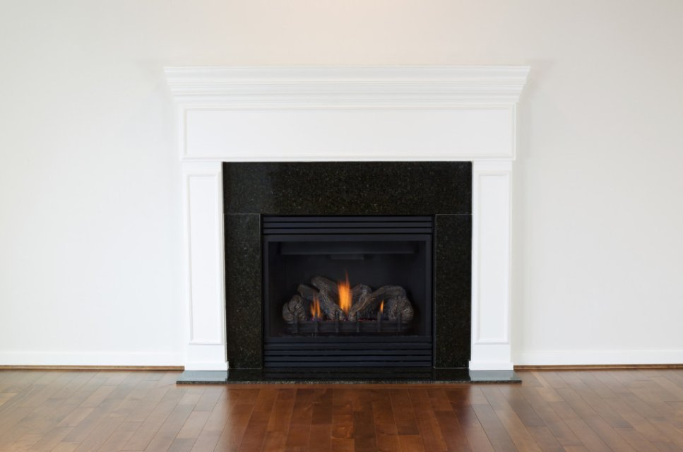 Red Deer Plumb-Pro natural gas fireplace