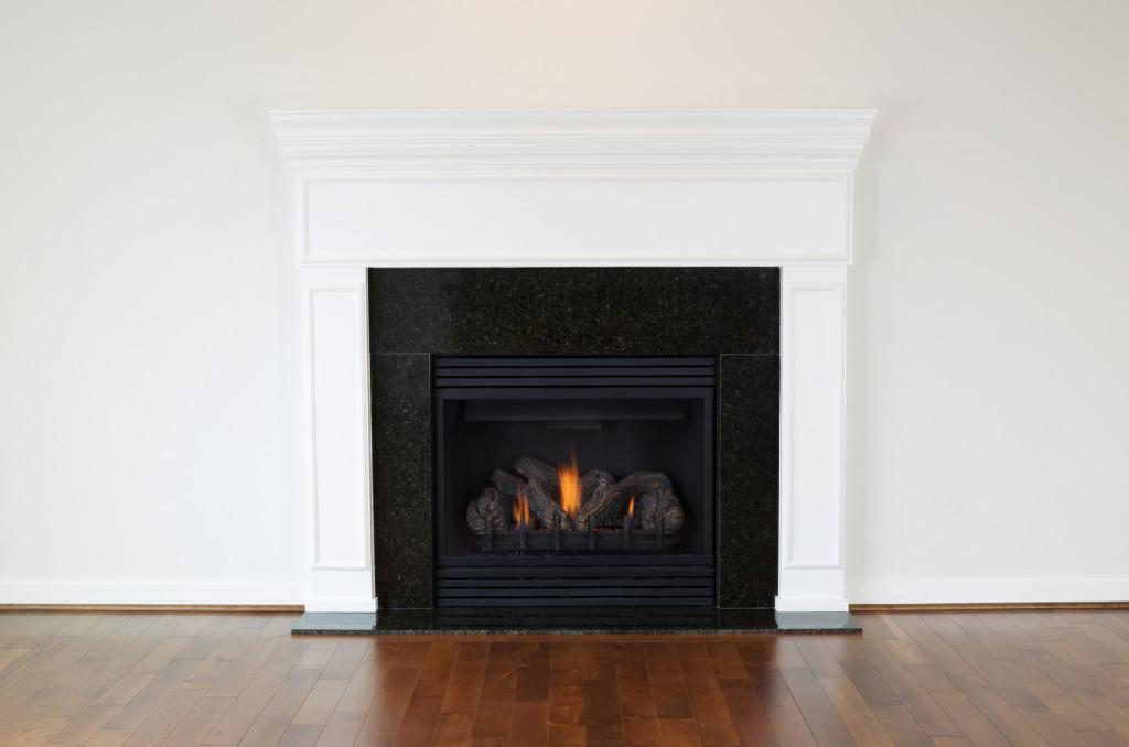 Red Deer Plumb-Pro natural gas fireplace